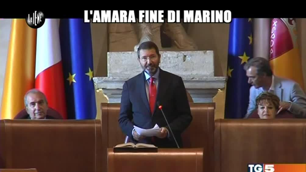 LUCCI: L'amara fine di Marino