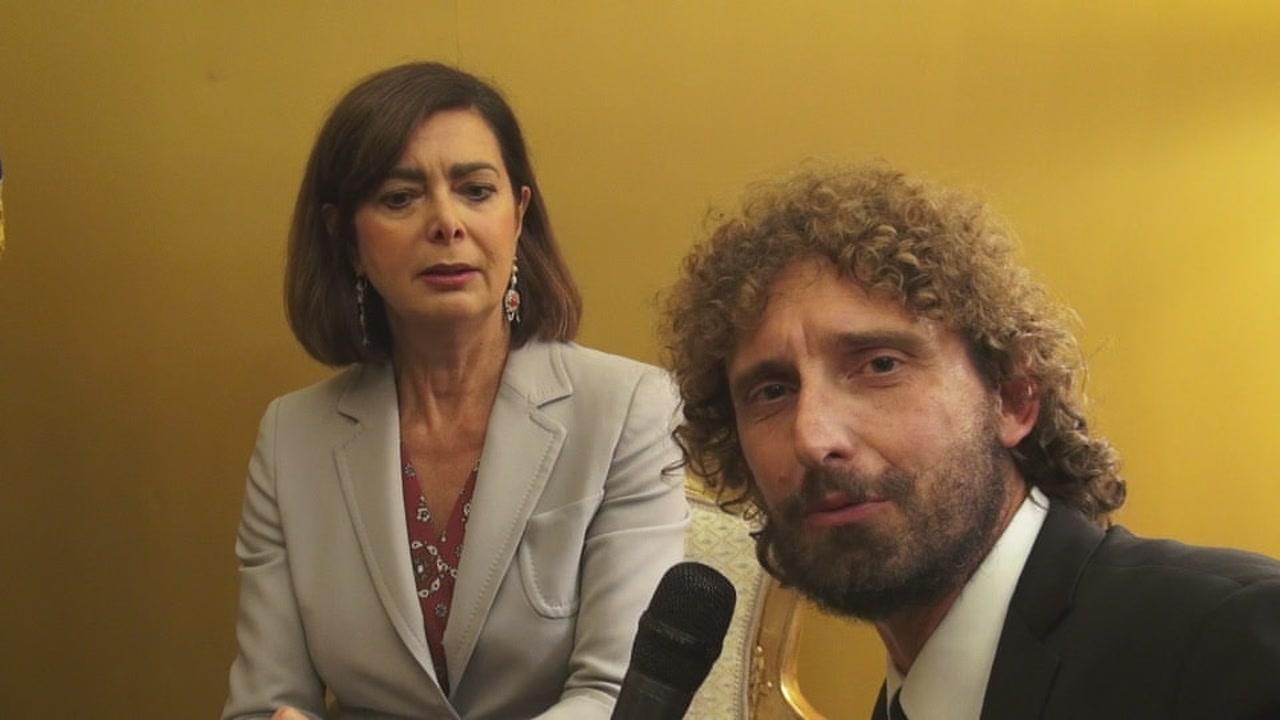 ROMA: Il filmato integrale dell'incontro tra Laura Boldrini e Federica Brocchetti