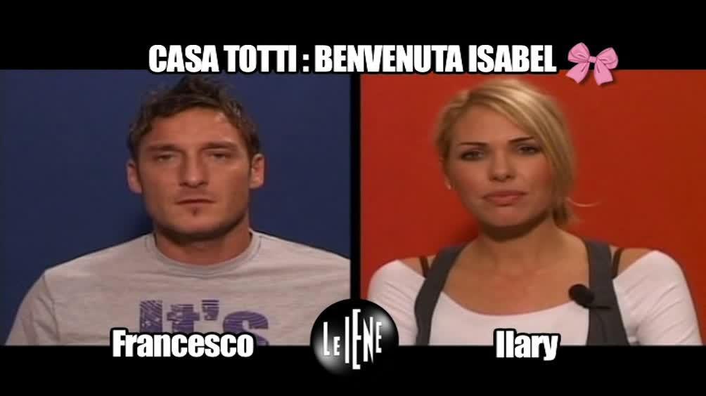 INTERVISTA: Casa Totti: Benvenuta Isabel