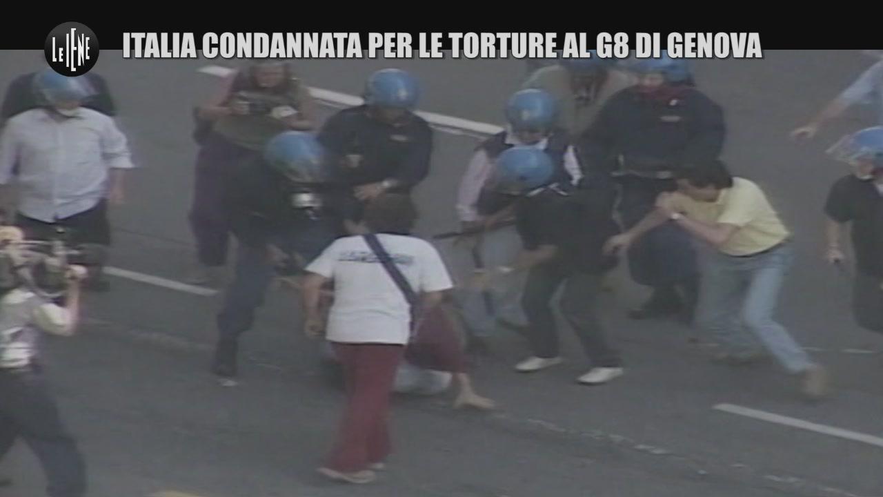 BOSCHIN: Italia condannata per le torture al G8 di Genova