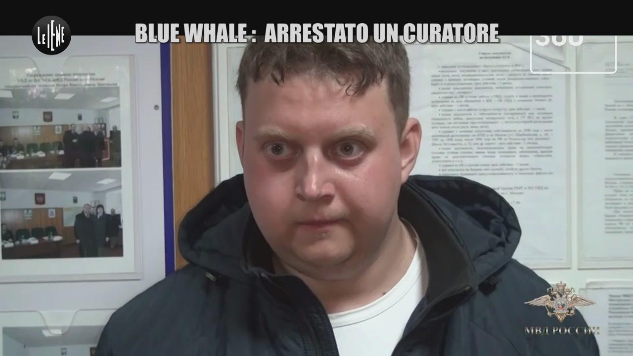 Blue Whale: arrestato un curatore