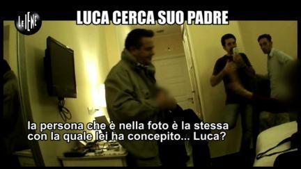 PELAZZA: Luca cerca papà