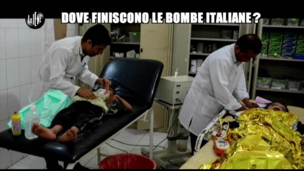 GIARRUSSO: Dove finiscono le bombe italiane?