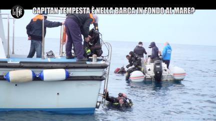 NINA: Capitan Tempesta è nella barca in fondo al mare?