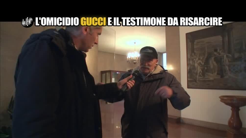 AGRESTI: L'omicidio Gucci e il testimone da risarcire