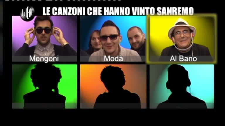 CASCIARI: Le canzoni che hanno vinto Sanremo