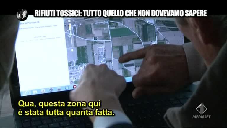 TOFFA: Carmine Schiavone ci indica i siti tossici.