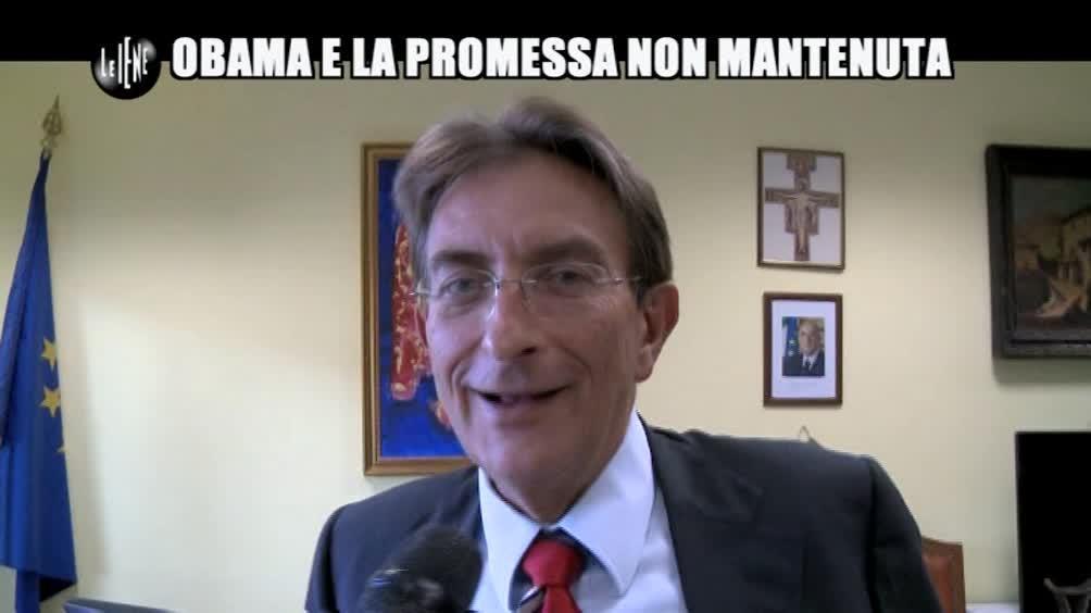 ROMA: Obama e la promessa non mantenuta