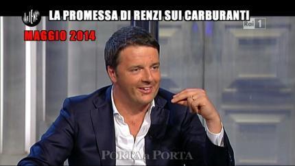 PELAZZA: La promessa di Renzi sui carburanti