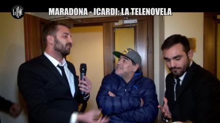 CORTI E ONNIS: Maradona-Icardi: la telenovela
