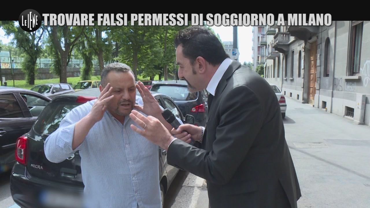 Trovare falsi permessi di soggiorno a Milano - Le Iene
