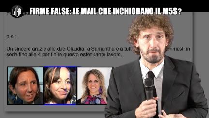 ROMA: Firme false: le email che inchiodano il M5S?
