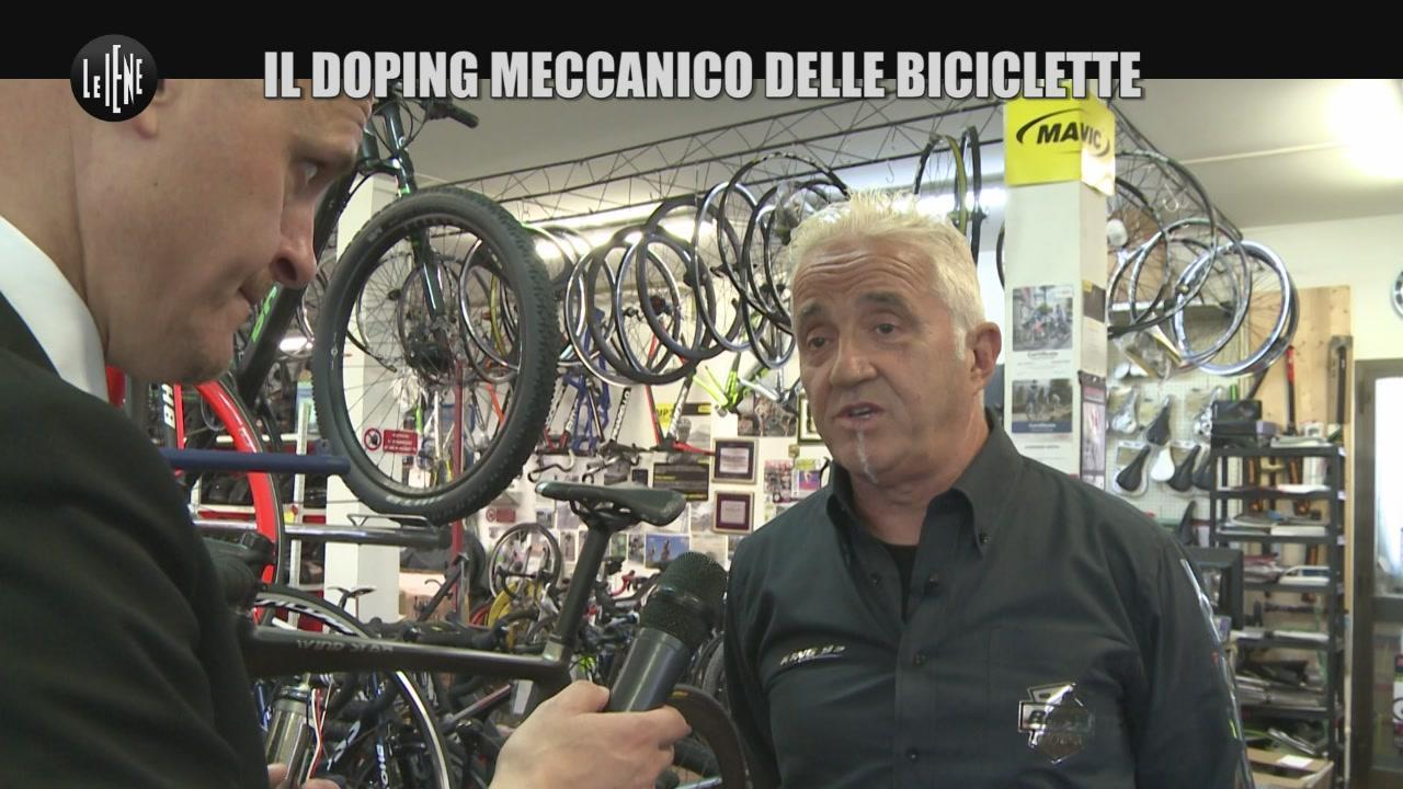 DE GIUSEPPE: Il doping meccanico delle biciclette