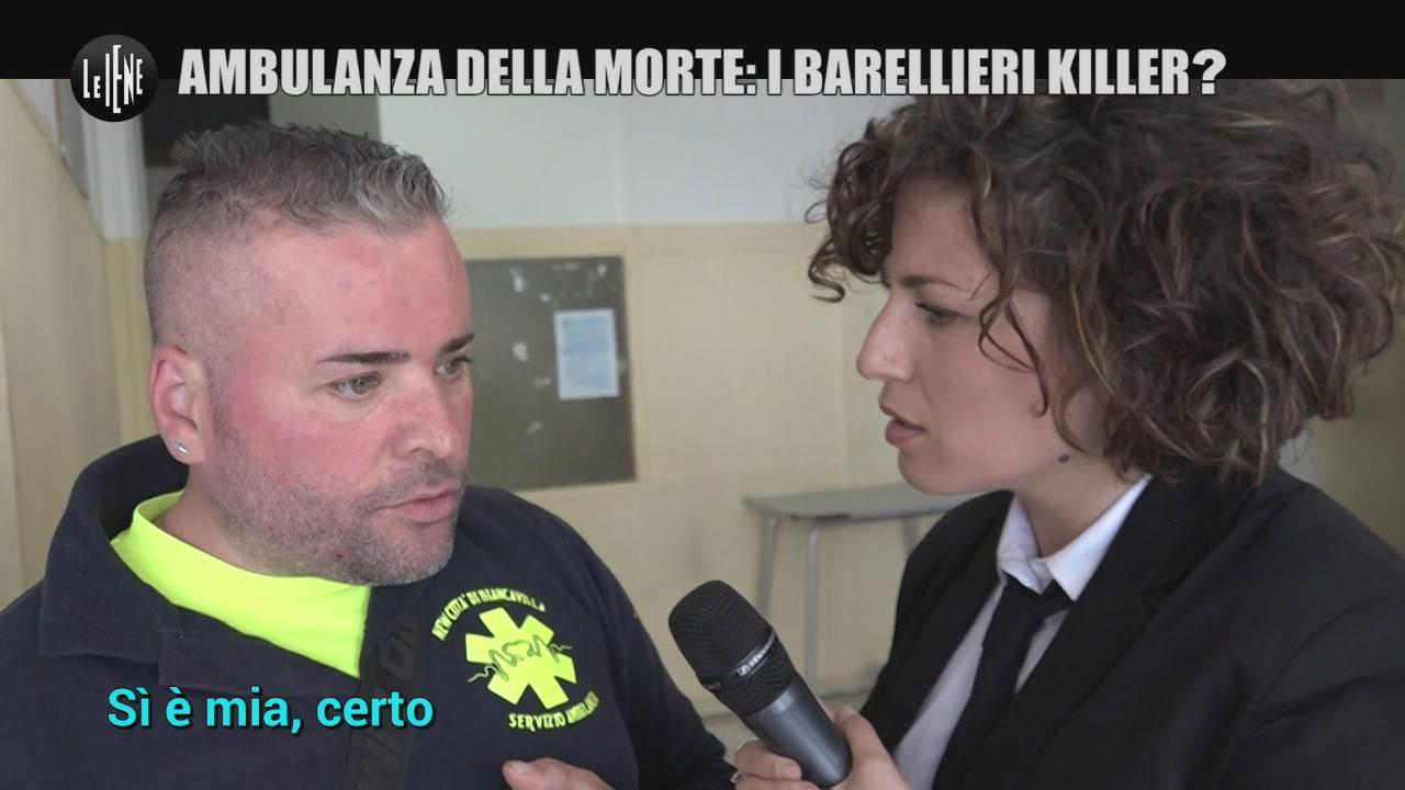 REI: Ambulanza della morte: i barellieri killer?
