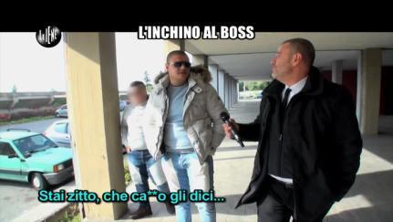 GOLIA: L'inchino al Boss