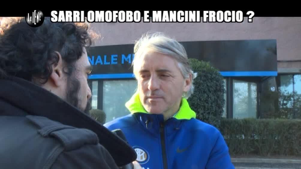 GIARRUSSO: Sarri omofobo e Mancini frocio?