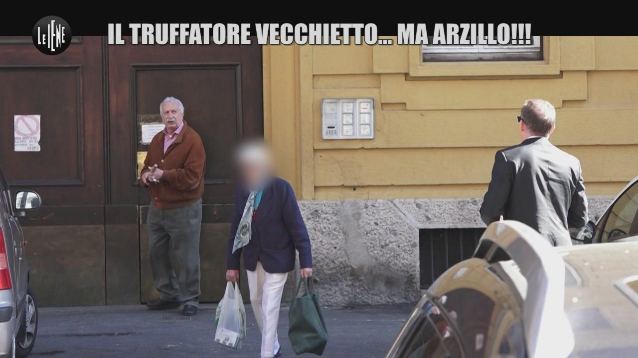 AGRESTI: Il truffatore vecchietto… ma arzillo!!!