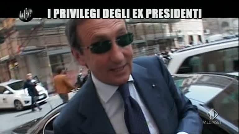 ROMA: I privilegi degli ex Presidenti