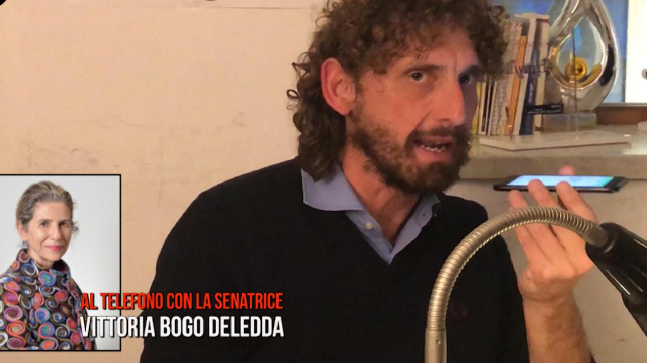 Bogo Deledda. Tutta la telefonata con la Iena Filippo Roma | VIDEO
