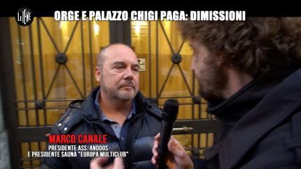 ROMA: Orge e Palazzo Chigi paga: dimissioni