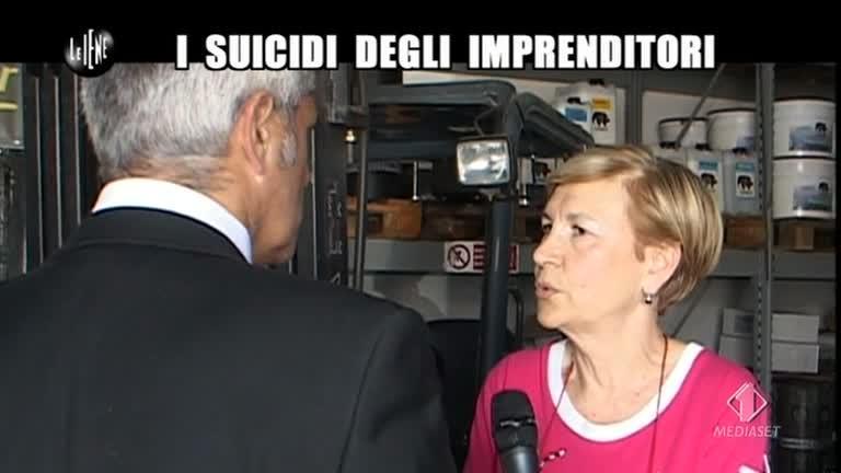 LUCCI: I suicidi degli imprenditori