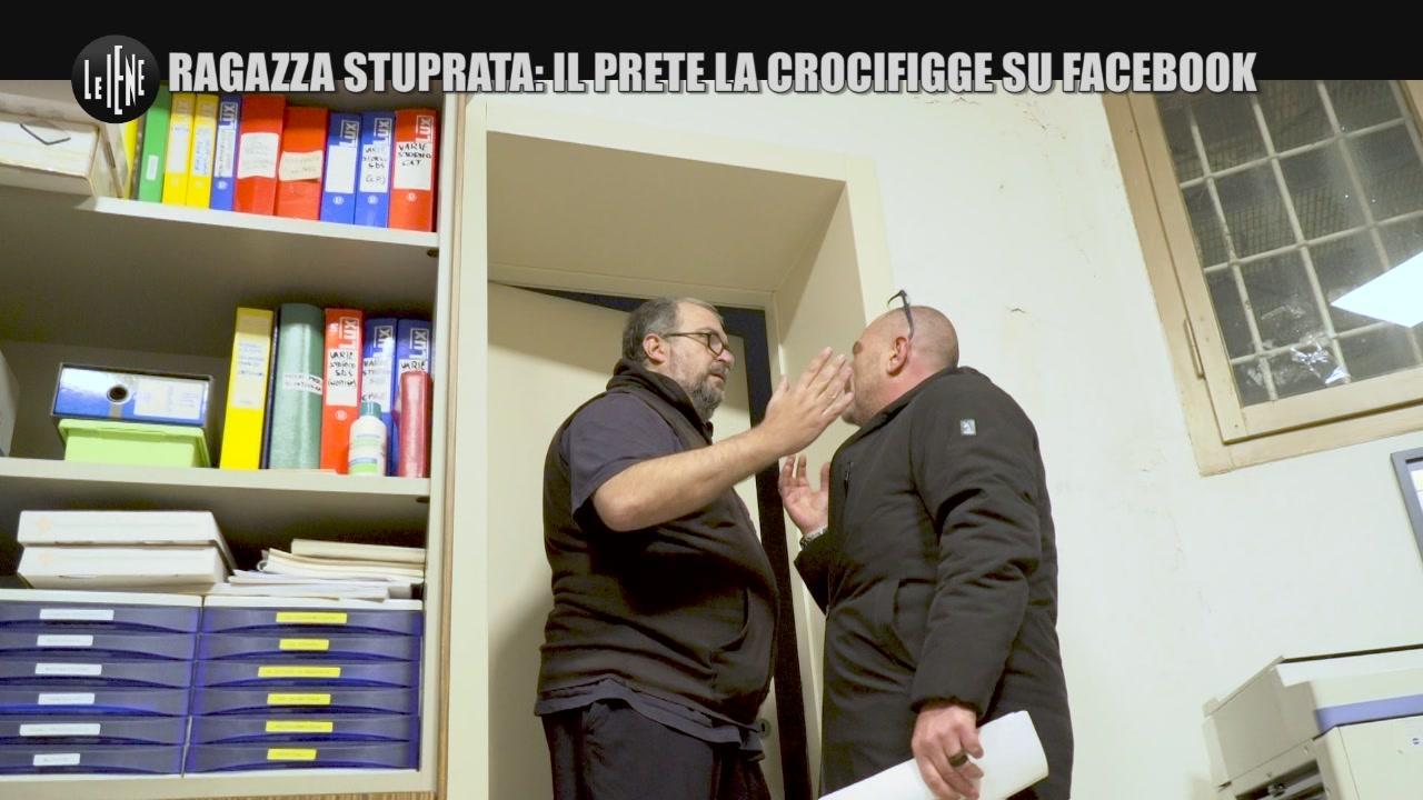 GOLIA: Ragazza stuprata: il prete la crocifigge su facebook