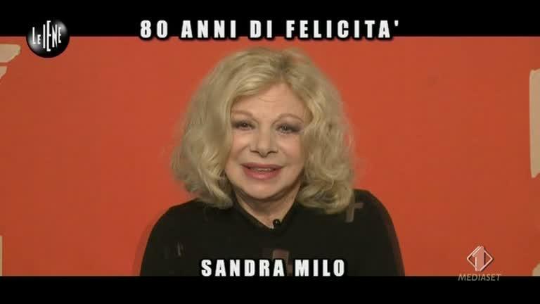 NOBILE: Gli 80 anni di Sandra Milo