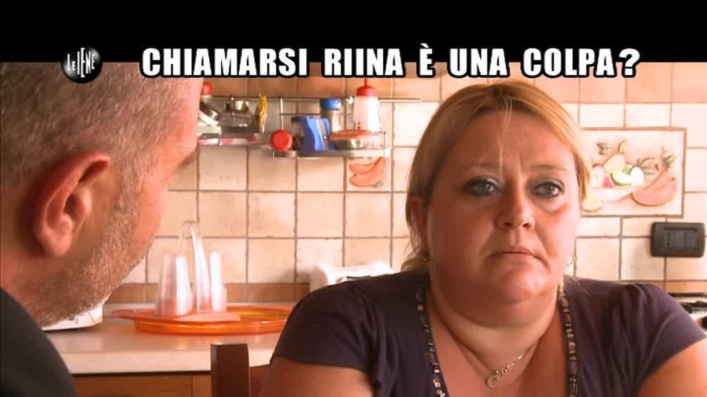 GOLIA: Chiamarsi Riina è una colpa?