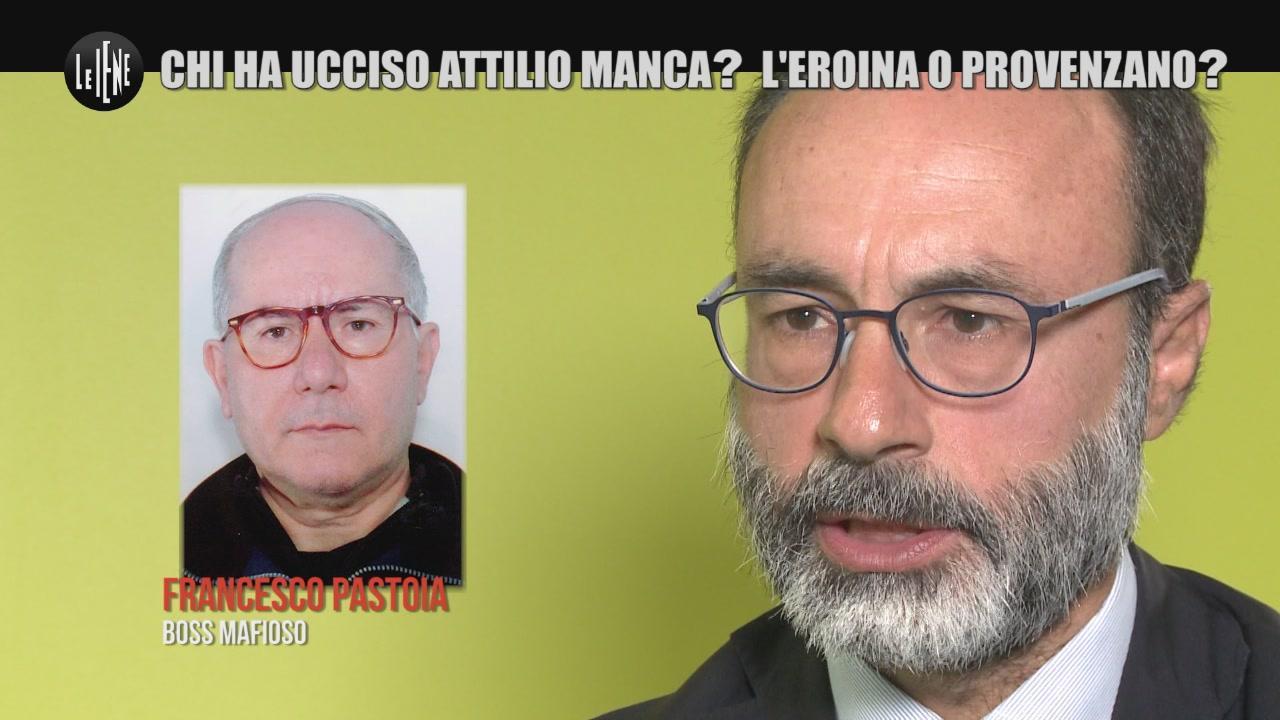 PECORARO: Chi ha ucciso Attilio Manca? L'eroina o Provenzano?