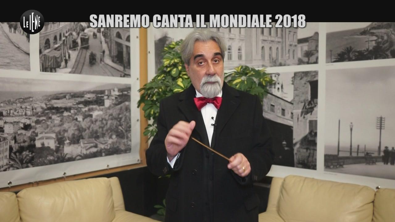 CORTI E ONNIS: Sanremo canta il mondiale 2018