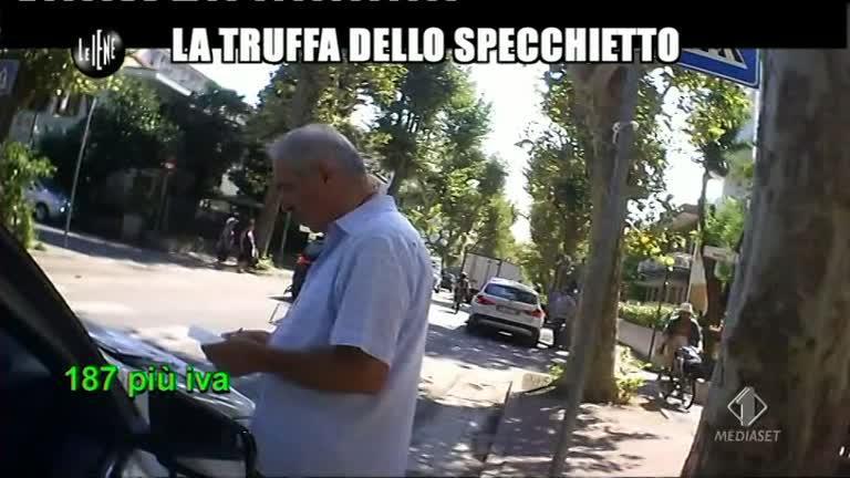 ROMA: La truffa dello specchietto