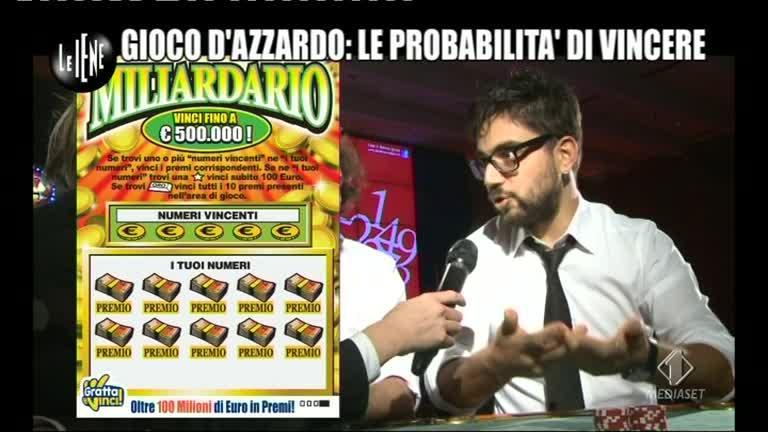 TOFFA: Gioco d'azzardo: le probabilità di vincere