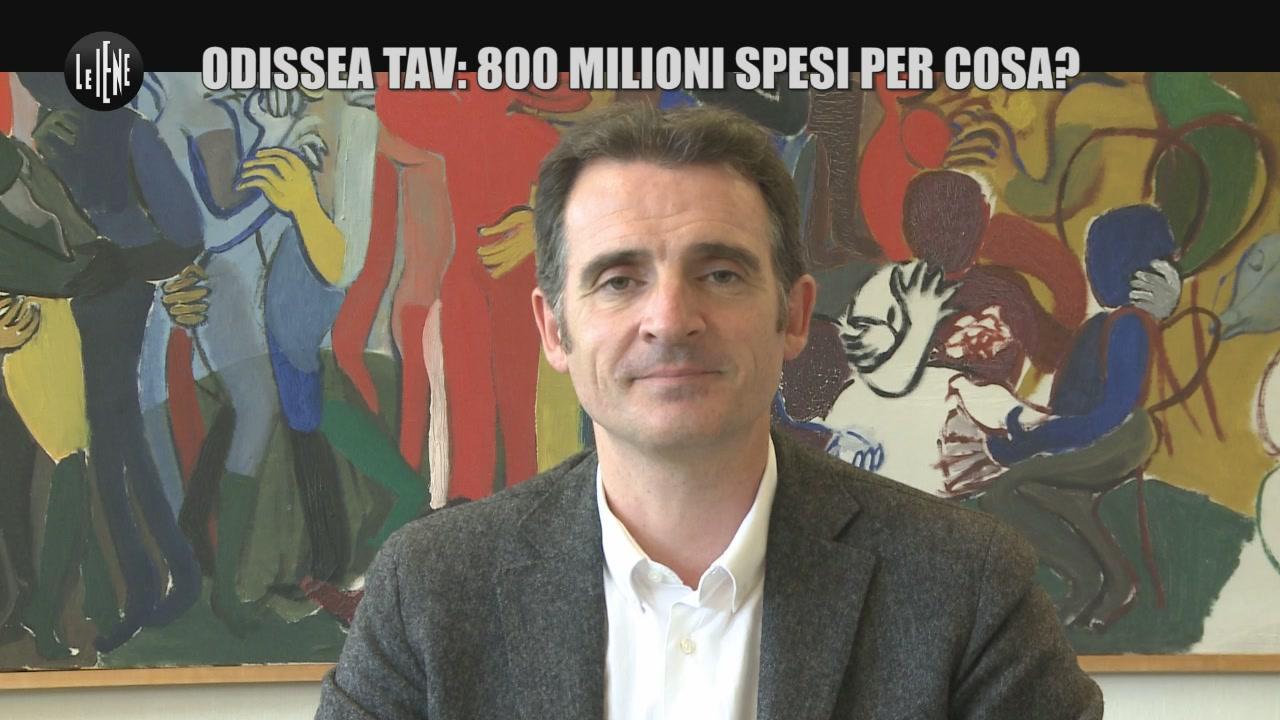 GIARRUSSO: Odissea TAV: 800 milioni spesi per cosa?