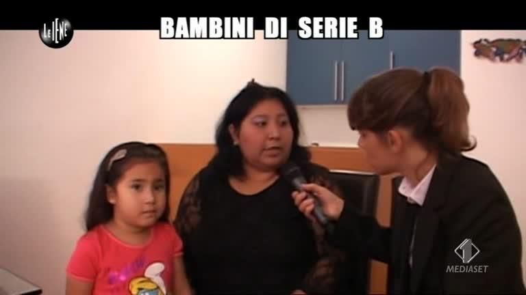 NOBILE: Bambini di serie B