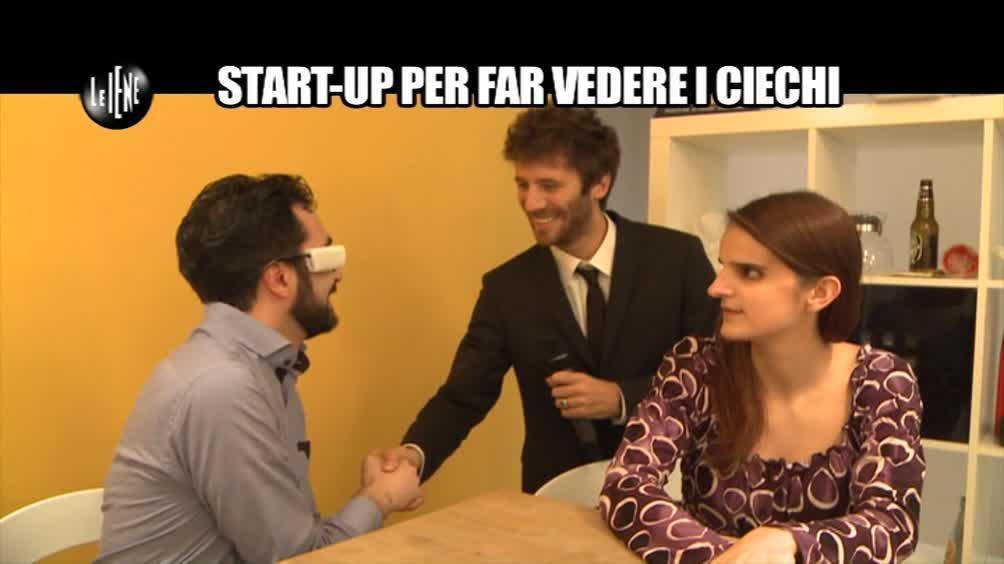 DE DEVITIIS: Start-up per far vedere i ciechi