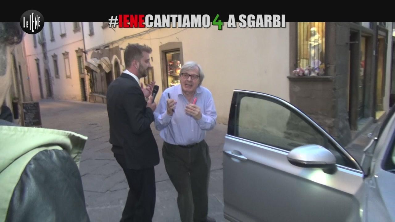 CORTI E ONNIS: #Ienecantiamo4 a Sgarbi