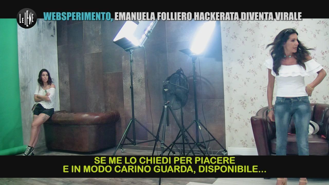 BELLO: Websperimento, Emanuela Folliero hackerata diventa virale