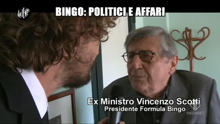 ROMA: Bingo: politici e affari
