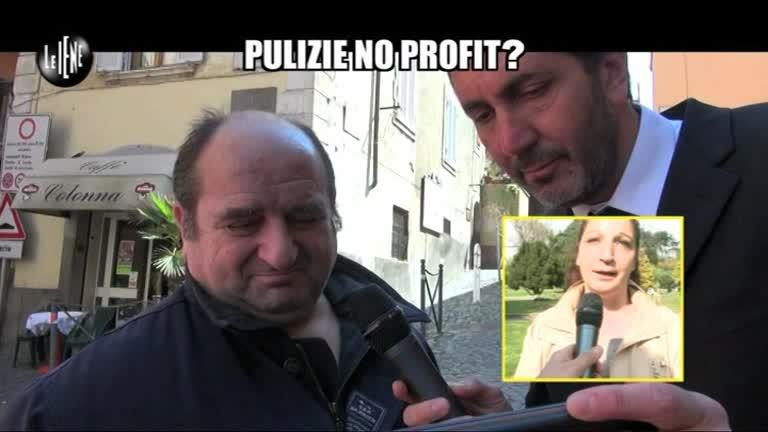 CALABRESI: Pulizie No Profit?