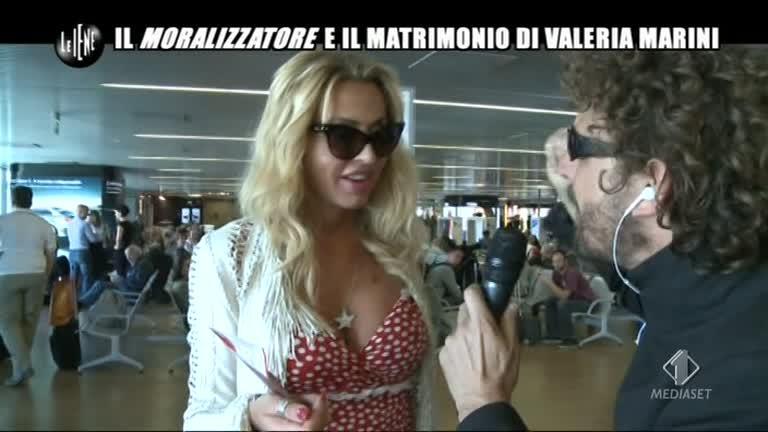 ROMA: Il matrimonio di Valeria Marini