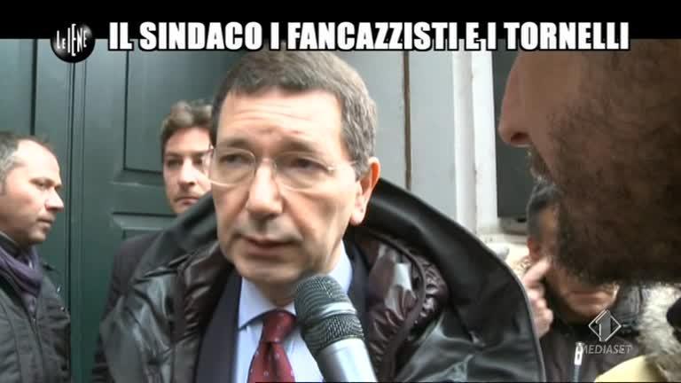 ROMA: Ignazio Marino e i tornelli
