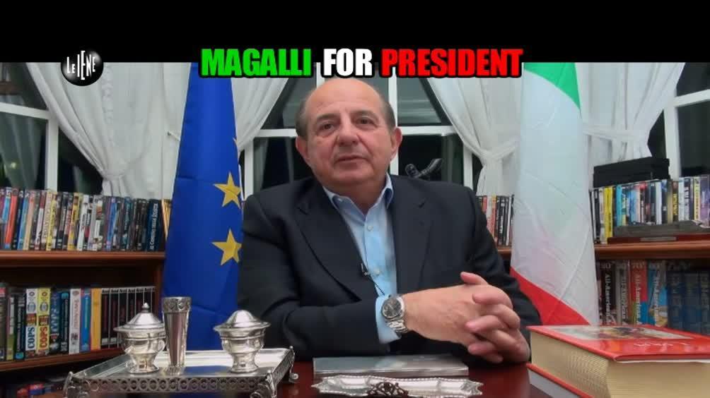 DE DEVITIIS: Magalli for President