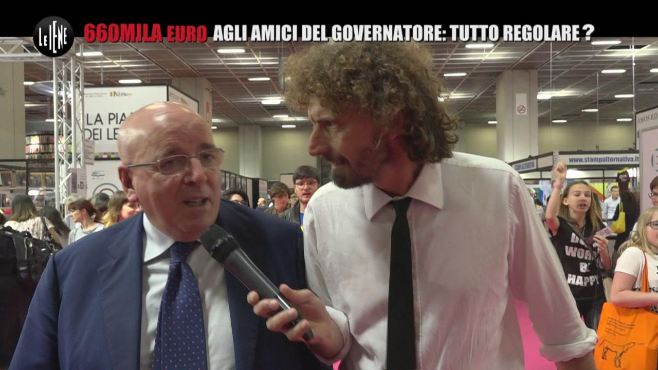 ROMA: 660mila euro agli amici del governatore: tutto regolare?
