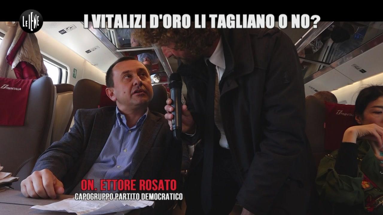 ROMA: Addio vitalizi: il Patto delle Iene tradito?
