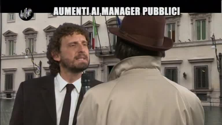 ROMA: Aumenti ai manager di Palazzo Chigi (versione integrale)