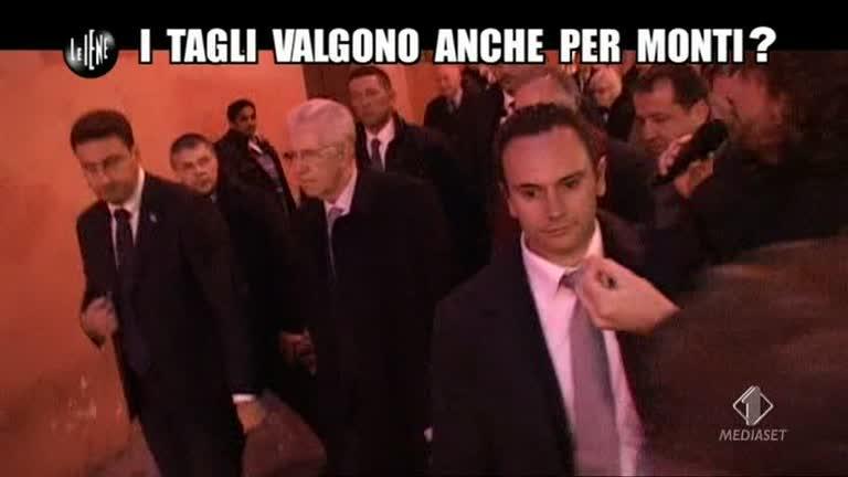 ROMA: I tagli valgono anche per Monti?