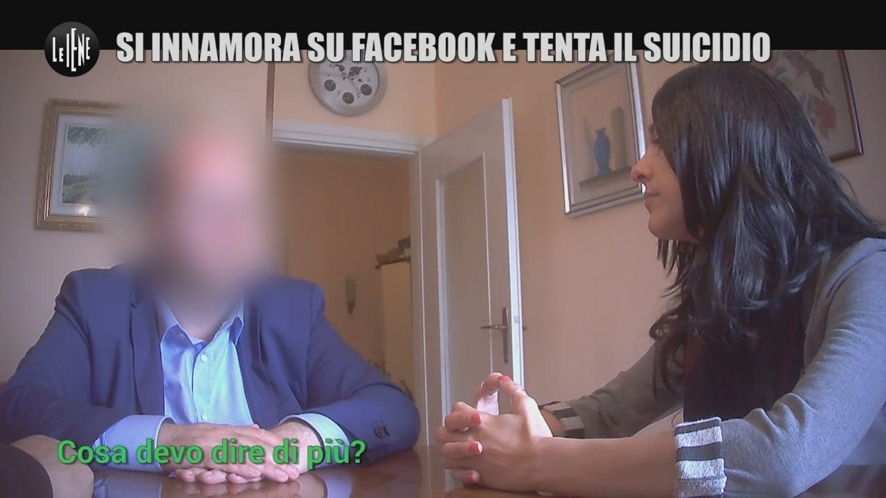 TOFFA: Si innamora su Facebook e tenta il suicidio