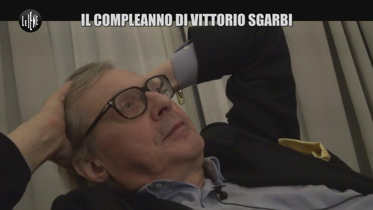 GASTON ZAMA: Il compleanno di Vittorio Sgarbi