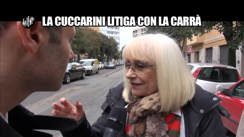 TROMBETTA: La Cuccarini litiga con la Carrà