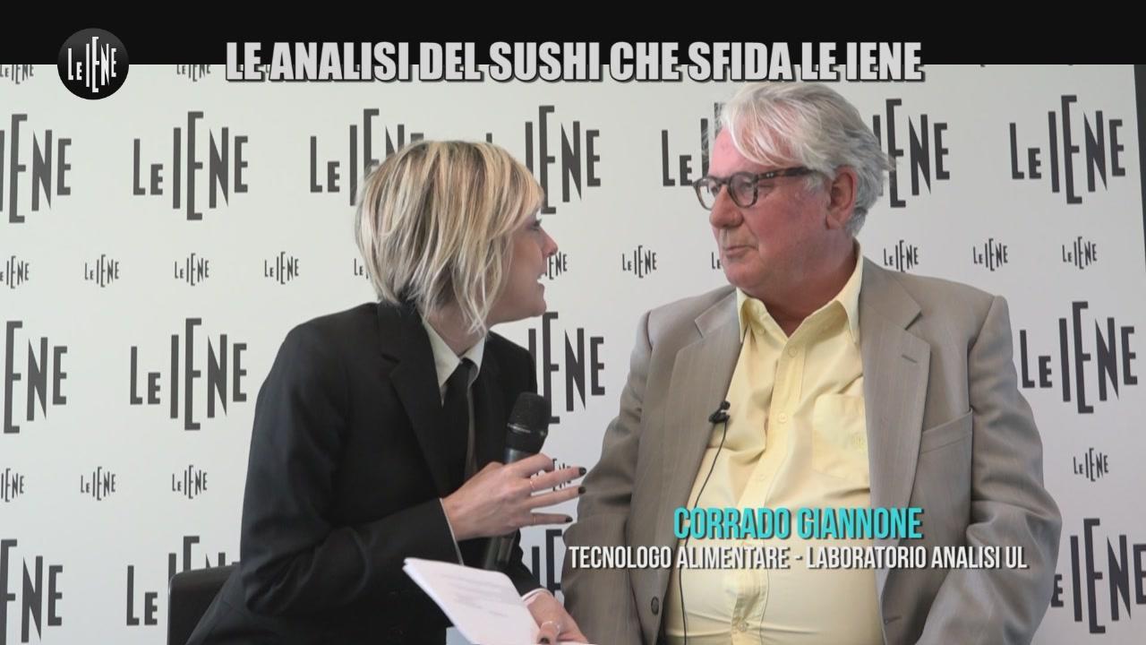 TOFFA: Le analisi del sushi che sfida le Iene